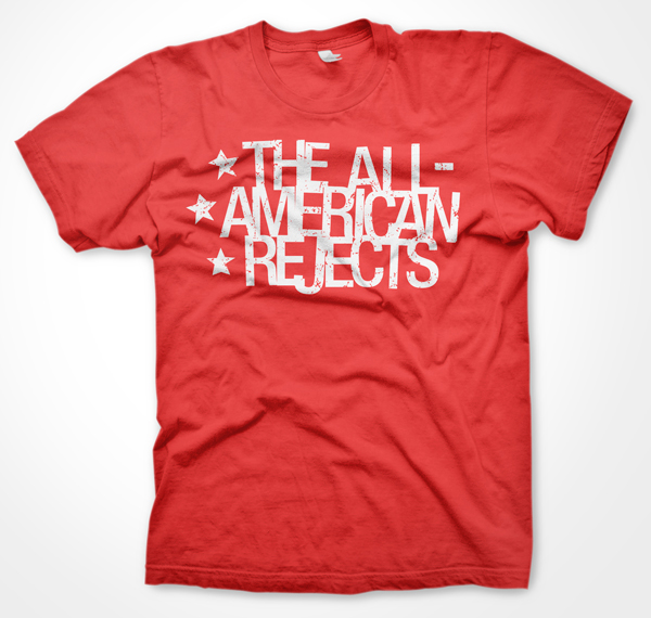 Fire eater industries the all american rejects stars t for All american classic shirt